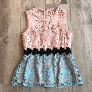 Nanette Lenore Lace Top